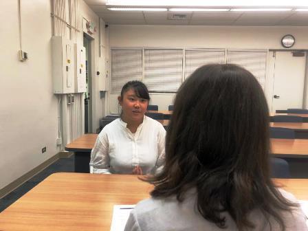 2019.09.20 (9) Speakingテストも行われました.JPG