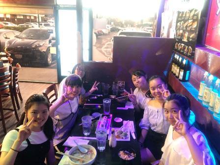 2019.09.23 (10) 夕飯は日本食レストランでそれぞれ好きなものを注文しました.JPG